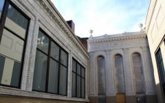 University unveils restored facades as construction nears completion