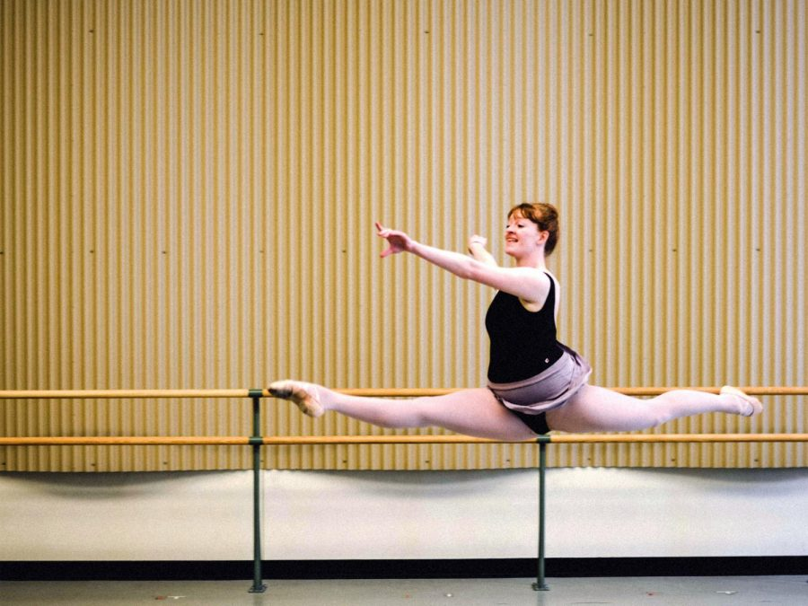 Dancers balance physical and mental health