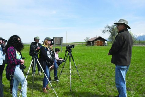 Photography class films documentary in Montana