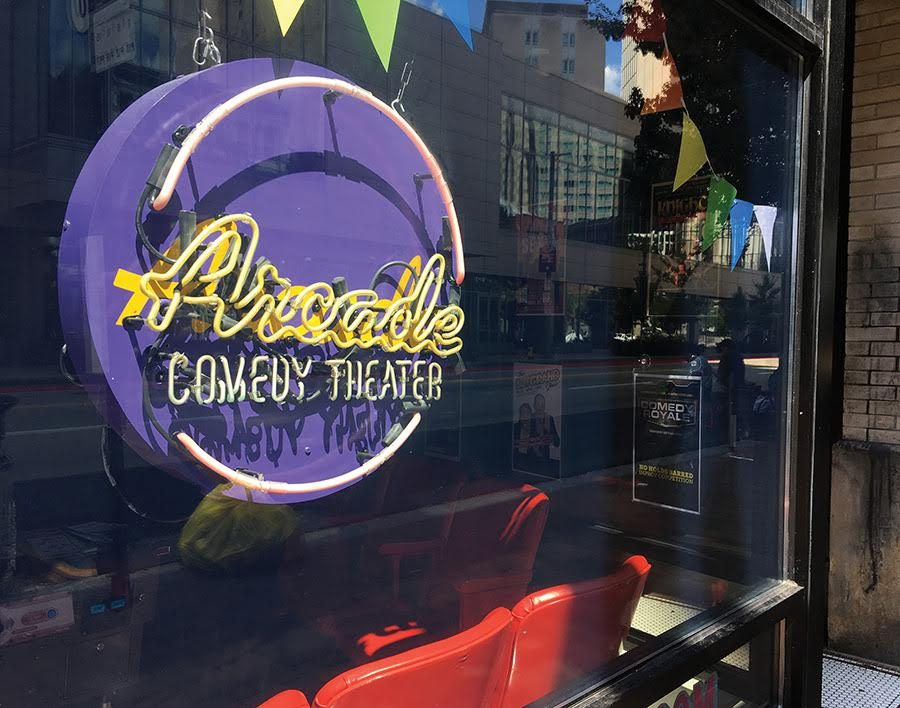 The+Point+Blank+Comedy+Club+will+have+their+first+show+of+the+year+at+the+Arcade+Comedy+Theater+on+Sept.+7.+at+8+p.m.+