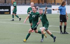 Men battle for playoff spot with late, last-minute goals