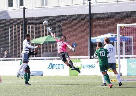Men lose final RSC game to penalty kick