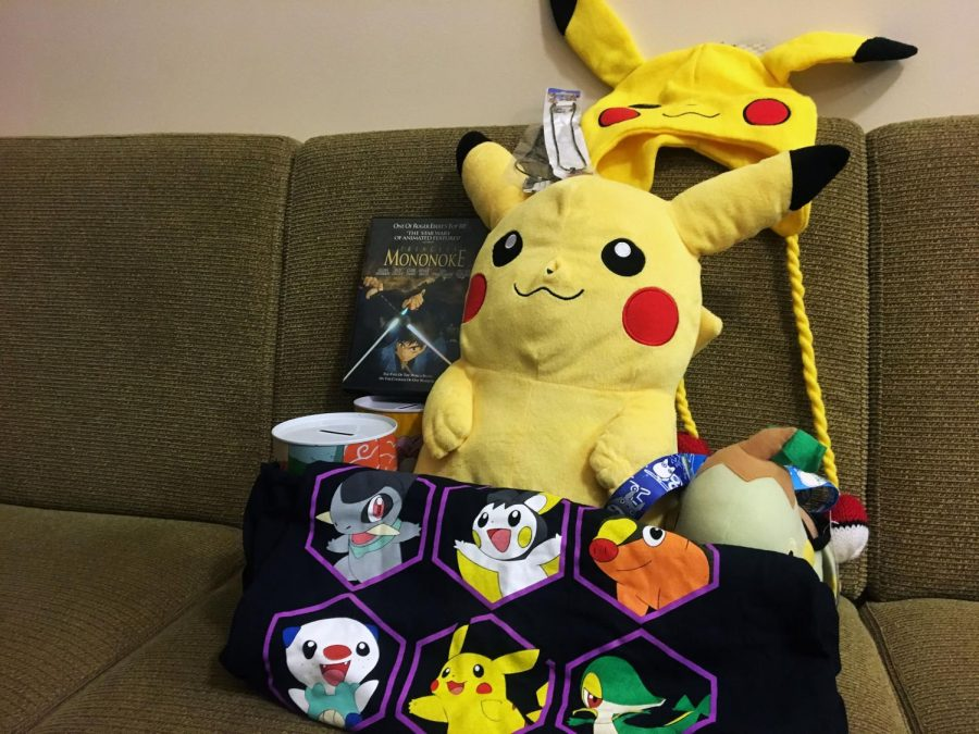 Anime Club accumulated a variety of prizes for their Halloween Party.
