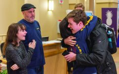Favorite author surprises student for act of kindness