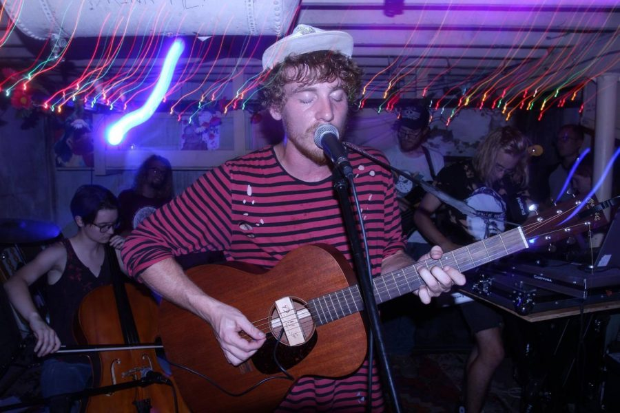 String Machine performing at the Bushnel.