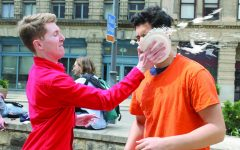 Athletes Pied in the Park