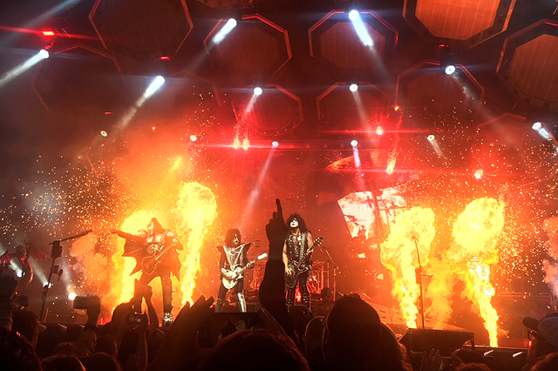 Kiss brings the heat at PPG Paints Arena for the