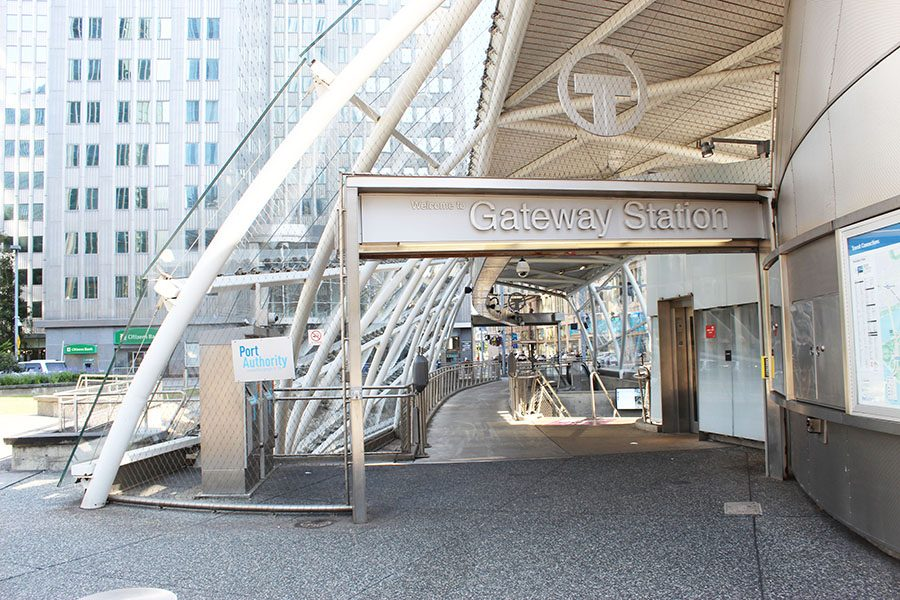 Gateway Station sits just outside of Market Square and is one of the stops that does not require a paid fare if staying within the city. Gateway and Wood Street Station are within a short walking distance from campus.