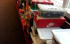 Community puts together gifts for children worldwide