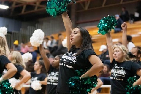 Cheer and dance teams compete in duel charity meet