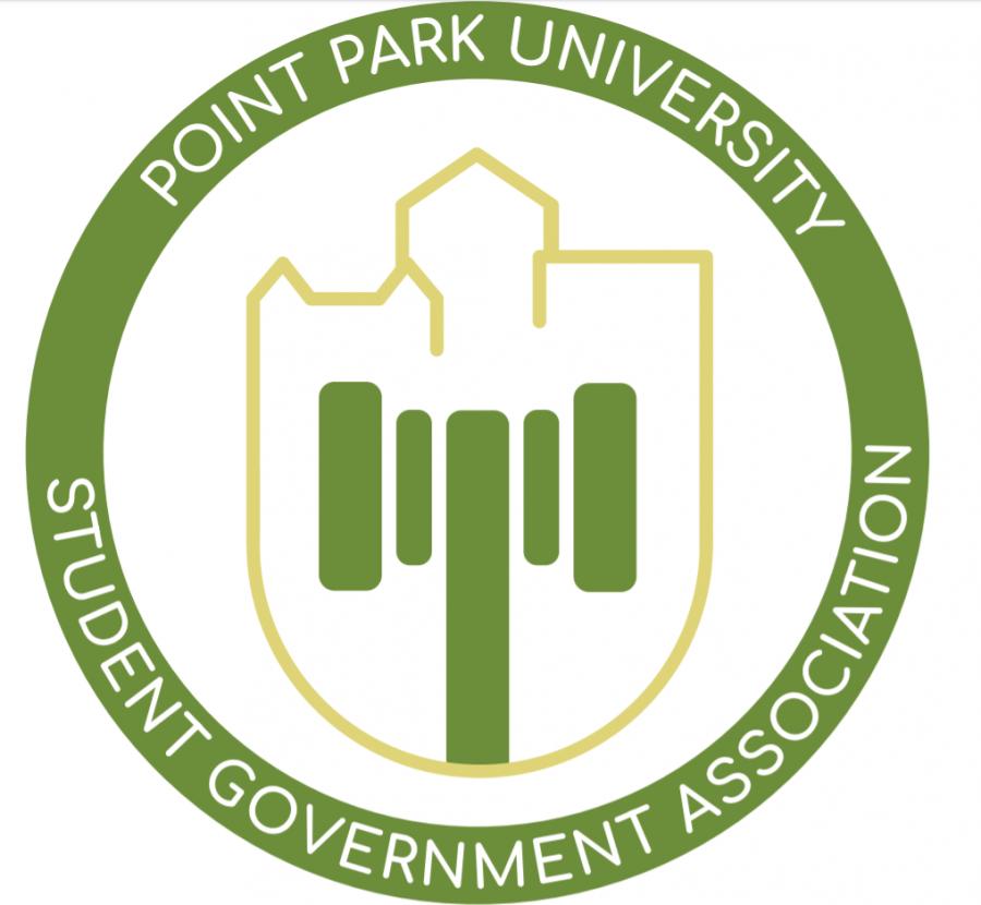 New SGA logo as of Spring 2020