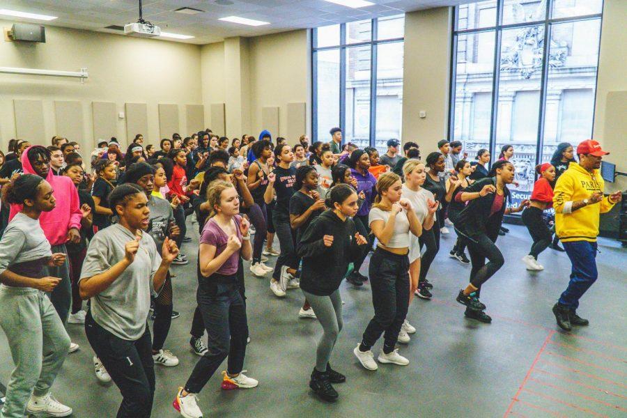 Campus+hosts+National+High+School+Dance+Festival