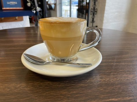 A cappuccino from La Prima in the Strip District